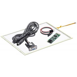 """8,4"""" Сенсорный резистивный экран W4R (4-проводной), c контроллером RS232 W5R"""