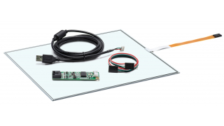 """14,1"""" Сенсорный резистивный экран W4R (4-проводной), c контроллером USB W4R"""