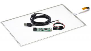 """19"""" Сенсорный резистивный экран W5R (5-проводной), широкоформатный, комплект c контроллером USB W5R"""