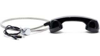 Телефонная трубка с держателем