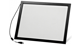 """17"""" Сенсорный инфракрасный экран с антивандальным стеклом, мультитач, 4 касания, S-серия"""