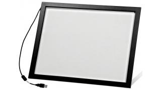 """19"""" Сенсорный инфракрасный экран с антивандальным стеклом, мультитач, 4 касания, S-серия"""