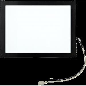 """15"""" Сенсорный акустический экран в рамке, 6 мм, P-серия, комплект (контроллер USB, провод)"""