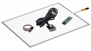 """19"""" Сенсорный резистивный экран W4R (4-проводной), комплект c контроллером RS232 W5R"""