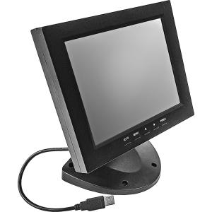 """8"""" Настольный проекционно-емкостный сенсорный POS монитор, мультитач до 10 касаний, KTD-серия"""
