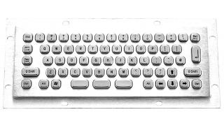 Металлическая антивандальная клавиатура TG-PC-mini (EN)