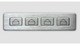 Боковые кнопки к цифровой клавиатуре TG2027 с рисунком