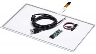 """15,6"""" Сенсорный резистивный экран W4R (4-проводной), c контроллером USB W4R"""
