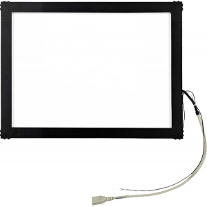 """17"""" Сенсорный акустический экран в рамке, 6 мм, P-серия, комплект (контроллер USB, провод)"""