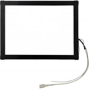 """19"""" Сенсорный акустический экран в рамке, 6 мм, P-серия, комплект (контроллер USB, провод)"""