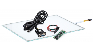 """12,1"""" Сенсорный резистивный экран W4R (4-проводной), A0, комплект c контроллером  RS232 W5R"""