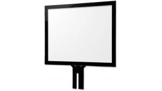 """17"""" Сенсорный проекционно-ёмкостный экран, мультитач до 10 касаний, 3,95 мм, комплект"""