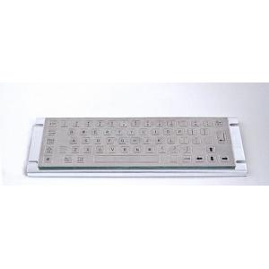Металлическая антивандальная встраиваемая клавиатура, USB, Alt, Win, Ctrl