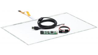 """22"""" (21,5) Сенсорный резистивный экран W5R (5-проводной), широкоформатный, комплект c контроллером USB W5R"""