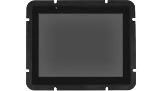 8'' Встраиваемый промышленный сверхъяркий проекционно-ёмкостный сенсорный монитор Open Frame с датчиком света, до 10 касаний, PureFlat-серия