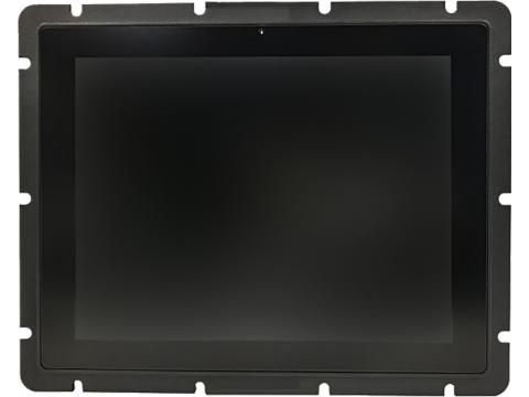 10,4''  Встраиваемый промышленный сверхъяркий проекционно-ёмкостный сенсорный монитор Open Frame с датчиком света, до 10 касаний, PureFlat-серия