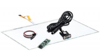 """22"""" (21,5) Сенсорный резистивный экран W5R (5-проводной), широкоформатный, комплект c контроллером RS232 W5R"""