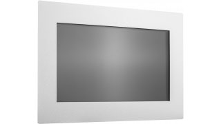 """22"""" Встраиваемый антивандальный акустический сенсорный монитор Easy Mount, 2 касания, EM-серия"""