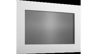 """18,5"""" Встраиваемый антивандальный резистивный сенсорный монитор Easy Mount, стекло 2,1 мм, EM-серия"""