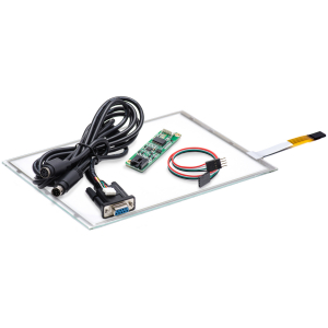"""10,4"""" Сенсорный резистивный экран W4R (4-проводной), c контроллером RS232 W5R"""