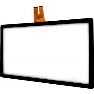 """43"""" Сенсорный проекционно-ёмкостный экран, мультитач до 10 касаний, 4,3 мм, комплект"""