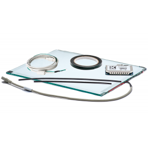 """21"""" Сенсорный антибликовый акустический экран, 4 мм, D-серия, комплект (контроллер USB, провод)"""