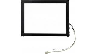 """19"""" Сенсорный акустический экран в рамке, 4 мм, P-серия, комплект (контроллер USB, провод)"""
