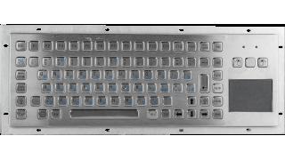 Металлическая антивандальная клавиатура с Touch Pad TG-PC-F2(T), USB