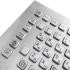 Металлическая настольная антивандальная клавиатура, USB, F1—F12, Alt, Win, Ctrl