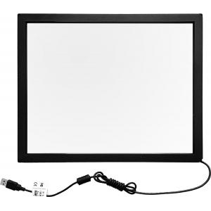 """19"""" Сенсорный инфракрасный экран с антивандальным стеклом, мультитач до 6 касаний, E-серия"""