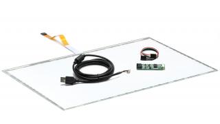 """22"""" (21,5) Сенсорный резистивный экран W5R (5-проводной), широкоформатный, антибликовый, c контроллером USB W5R"""