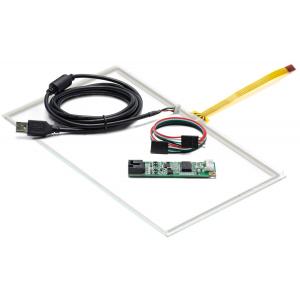 """10,1"""" Сенсорный резистивный экран W4R (4-проводной), широкоформатный, A1, комплект c контроллером USB W4R"""