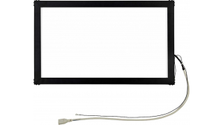 """15.6"""" Сенсорный акустический экран в рамке, 6 мм, P-серия, широкоформатный, комплект (контроллер USB, провод)"""