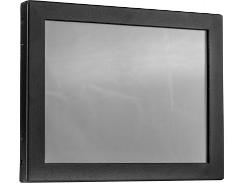 8'' Встраиваемый промышленный резистивный сенсорный монитор Open Frame, стекло 1,8 мм, DVI, HDMI, KT-серия
