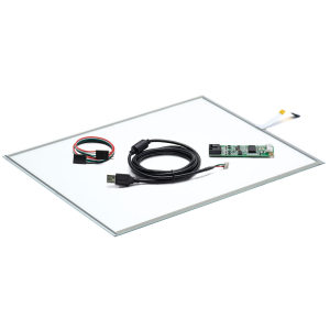 """20"""" Сенсорный резистивный экран W5R (5-проводной), комплект c контроллером USB W5R"""