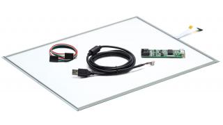 """20"""" Сенсорный резистивный экран W5R (5-проводной), c контроллером USB W5R"""