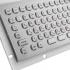 Металлическая антивандальная встраиваемая клавиатура с трекболом, USB, F1—F12, цифровой блок, Alt, Win, Ctrl