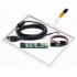 """8,1""""  Сенсорный резистивный экран W4R (4-проводной), комплект c контроллером USB W4R"""