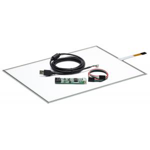 """15"""" Сенсорный резистивный экран W4R (4-проводной), широкоформатный, комплект c контроллером USB W4R"""