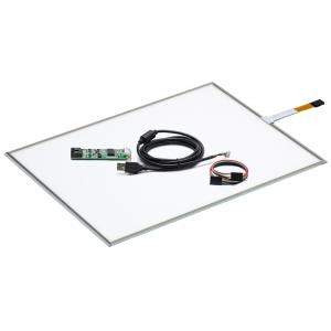 """19"""" Сенсорный резистивный экран W4R (4-проводной), комплект c контроллером USB W4R"""