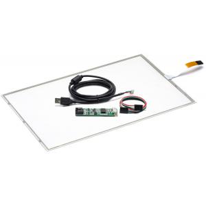 """22"""" Сенсорный резистивный экран W4R (4-проводной), широкоформатный, комплект c контроллером USB W4R"""