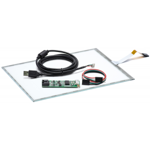 """12.1"""" Сенсорный резистивный экран W4R (5-проводной), c контроллером USB W5R"""