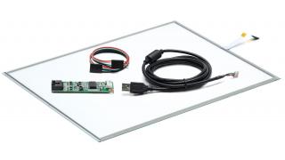 """19"""" Сенсорный резистивный экран W5R (5-проводной), комплект c контроллером USB W5R"""
