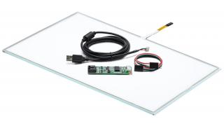 """18,5"""" Сенсорный резистивный экран W4R (4-проводной), c контроллером USB W4R"""