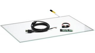 """22"""" (21,5"""") Сенсорный резистивный экран W4R (4-проводной), широкоформатный, комплект c контроллером USB W4R"""