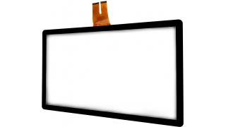 """18,5"""" Сенсорный проекционно-ёмкостный экран, мультитач до 10 касаний, 2,4 мм, комплект"""