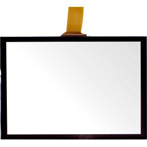 """19"""" Сенсорный проекционно-ёмкостный широкоформатный экран, мультитач до 10 касаний, 2,4 мм, комплект"""