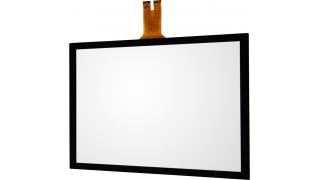 """15"""" Сенсорный проекционно-ёмкостный экран, мультитач до 10 касаний, 2,4 мм, комплект"""