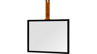 """19"""" Сенсорный проекционно-ёмкостный экран, мультитач до 10 касаний, 2,4 мм, комплект"""