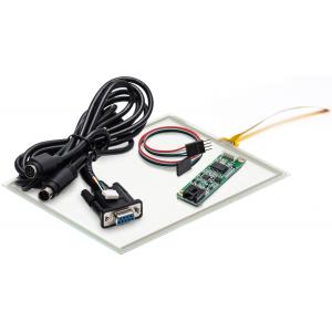 """5.7"""" Сенсорный резистивный экран W4R (4-проводной), c контроллером RS232 W4R"""